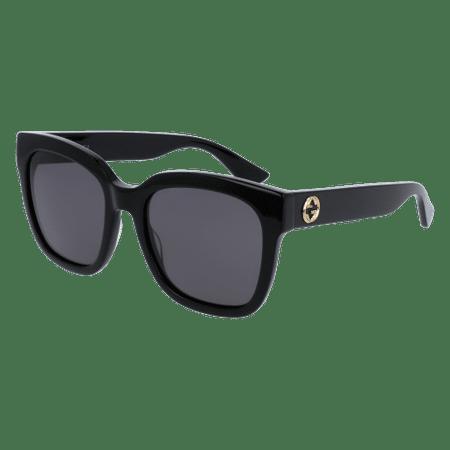 Gucci GG0034S 001 Black Square Sunglasses