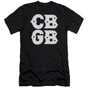 CBGB Stacked Logo Mens Slim Fit Shirt