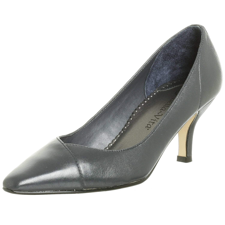 Bella Vita Womens Wow Leather Pointed Toe Classic Pumps by Bella Vita