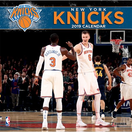 2019 12X12 TEAM WALL CALENDAR, NEW YORK KNICKS
