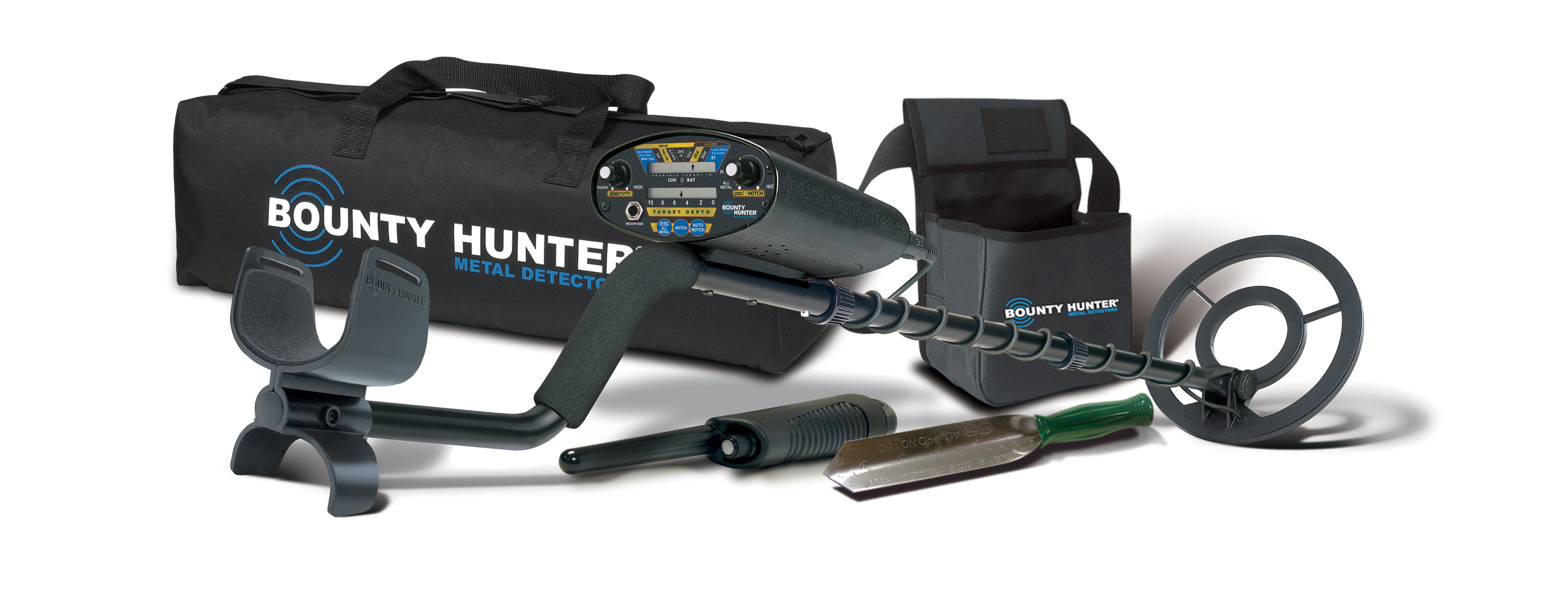Bounty Hunter Pioneer 202 Metal Detector by First Texas Products