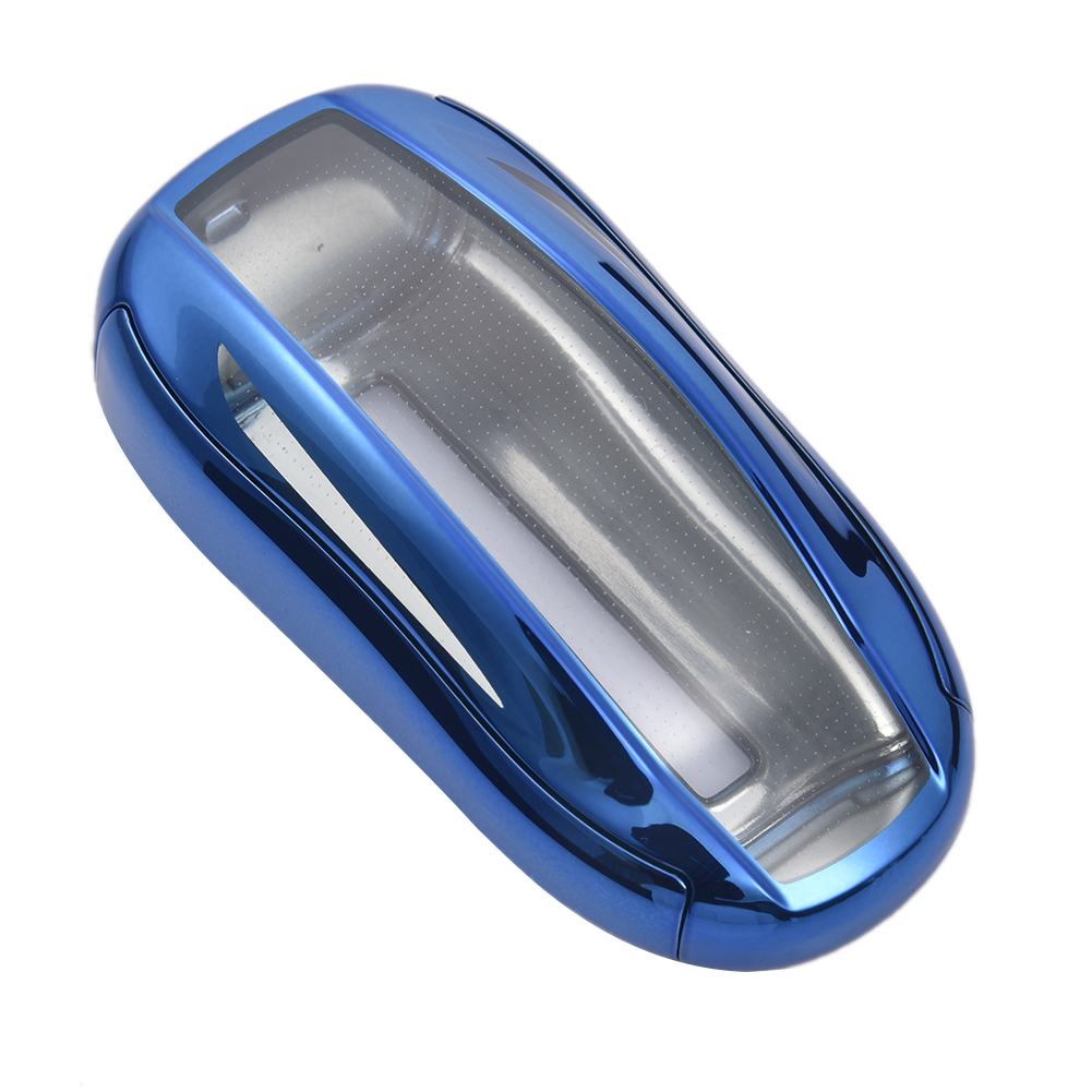 Unbrand - Car Key Case Cover For tesla model 3 & x Soft ...