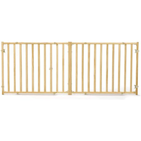 Midwest 24 High Wood Gate Extra Wide Expands 53 96 Wide