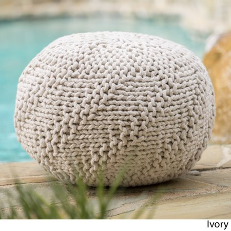 Christopher Knight Home Hazel Outdoor Round Weave Fabric
