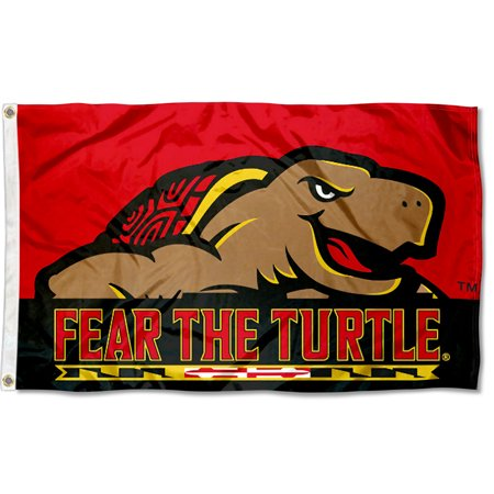 - University of Maryland Terrapins Fear the Turtle Flag