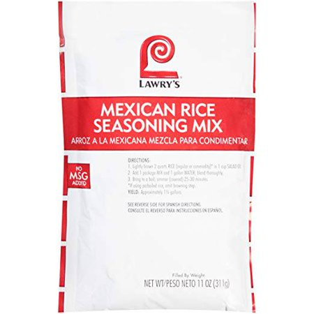 Lawrys Mexican Rice Seasoning Mix - 11 oz. package, 6 per (Best Mexican Rice Mix)