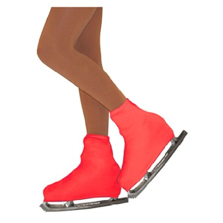 Chloe Noel Girls One Size Red Boot Cover Figure Skating Accessory ()