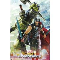 """Thor 3: Ragnarok - Marvel Movie Poster / Print (Gladiators - Thor & The Hulk) (Size: 24"""" x 36"""")"""