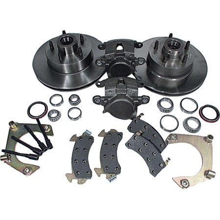 ALLSTAR PERFORMANCE ALL42029 Brake Systems Disc Brake Kit Mustang II 5 on 4.75in BC All Brake System