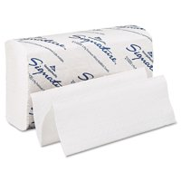 Georgia Pacific Professional Signature White 2-Ply Premium Multifold Paper Towels, 21000, 125 Towels per Pack, 16 Packs... by Georgia Pacific