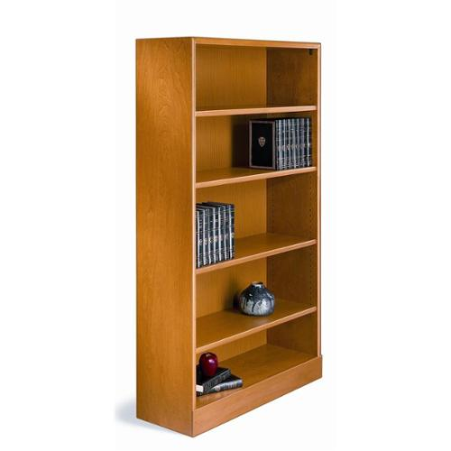500 LTD Series Open Bookcase (Natural Birch, 6 shelves - 84 in. H - Extra Deep)