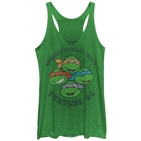 Teenage Mutant Ninja Turtles Women's Group '84 Racerback Tank Top](Teenage Mutant Ninja Turtles Girls)