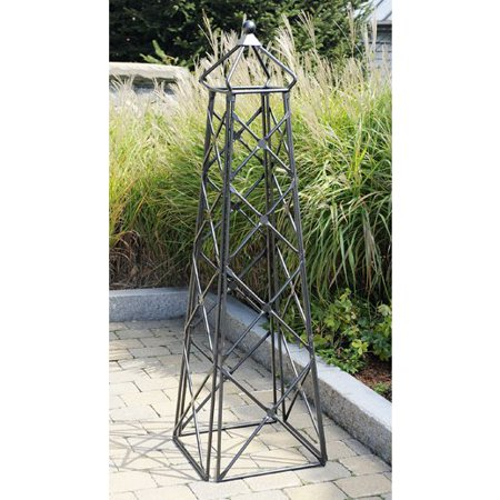 achla designs 55 ft square iron country cottage obelisk trellis achla designs wrought iron
