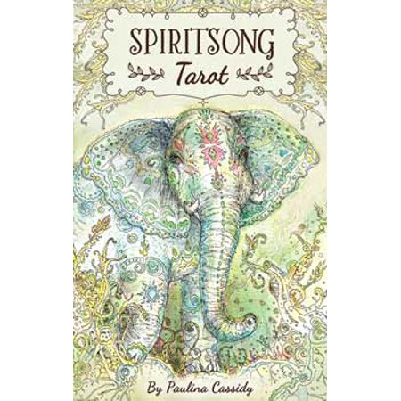Fortune Telling Tarot Cards Spiritsong Deck Animal Guides Between Spirt World by Paulina Cassidy - Mysterious Fortune Cards