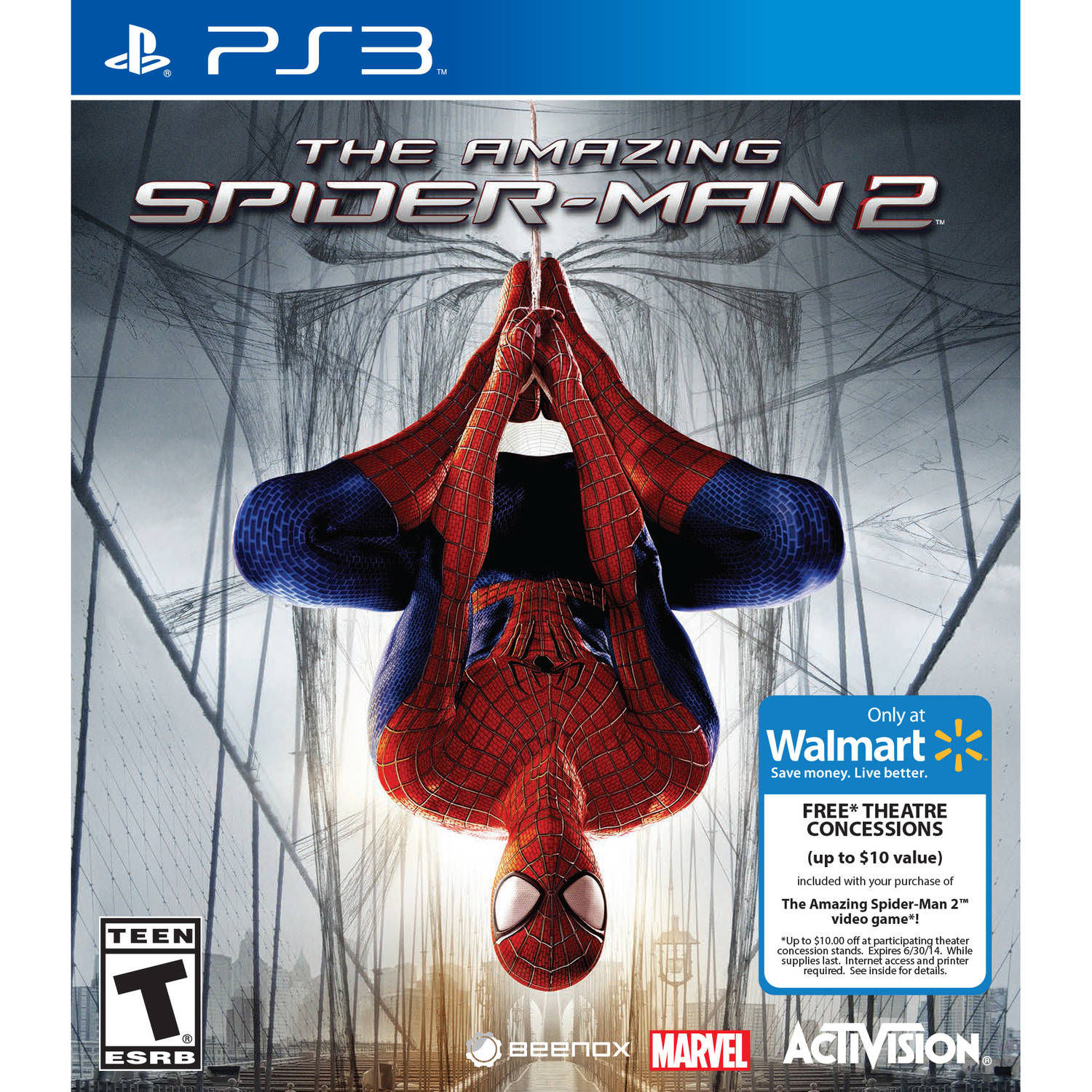 The Amazing Spiderman 2 (PS3) 047875849341