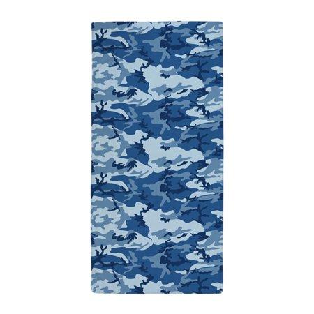 Cameo Towel - CafePress - CAMO NAVY - Large Beach Towel, Soft 30