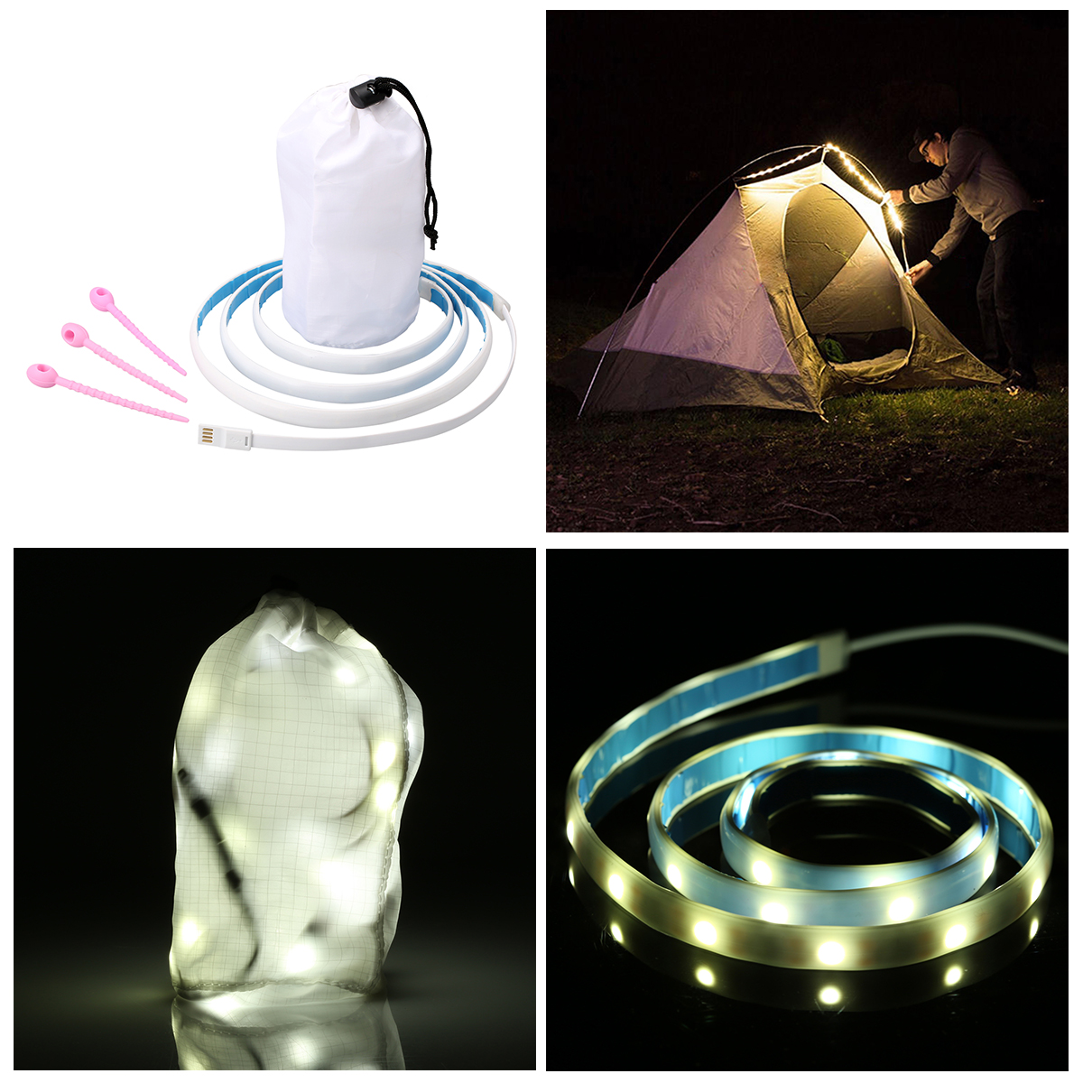 Portable Washing Machine 1m Decoration String Light for washing machine