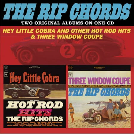 Clipart Hot Rod (The Rip Chords - Hey Little Cobra & Other Hot Rod Hits / Three Window Coupe (CD) )