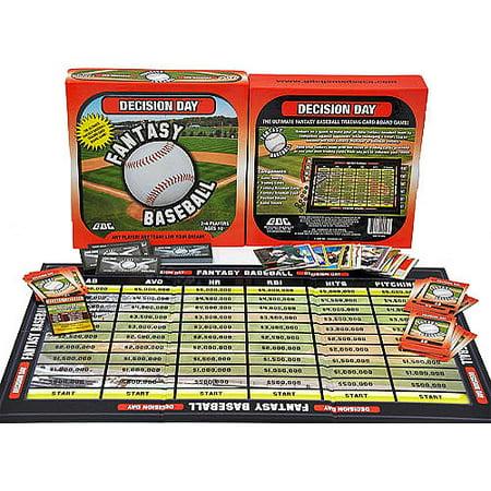 Decision Day Fantasy Baseball Board Game