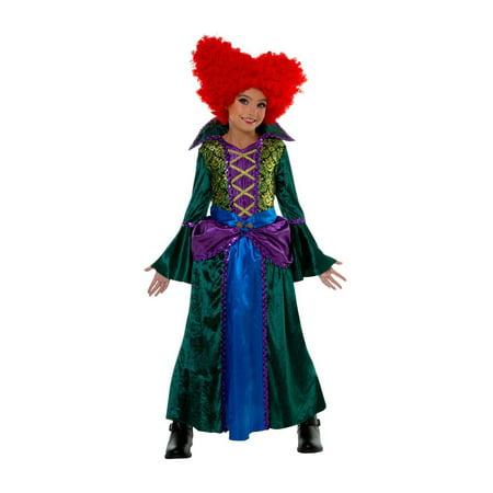 Salem Mass Halloween Costumes (Child Bossy Salem Sister)