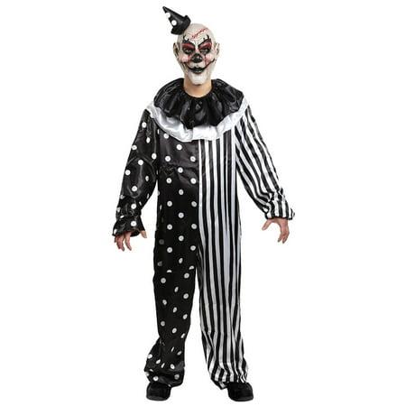 Morris costumes MR144401 Kill Joy Clown Costume Child - Kill Bill Costume Ideas