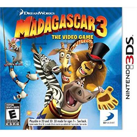 Madagascar 3: The Video Game - Nintendo 3DS
