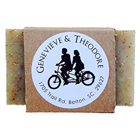 (Oatmeal Spice and All Things Nice Certified Organic Bar Soap, 4 oz. Face & Body Bar)