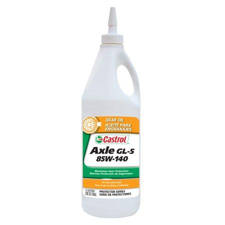 Castrol Axle GL-5 85W-140 Gear Oil, 1 QT (Best Gl5 Gear Oil)