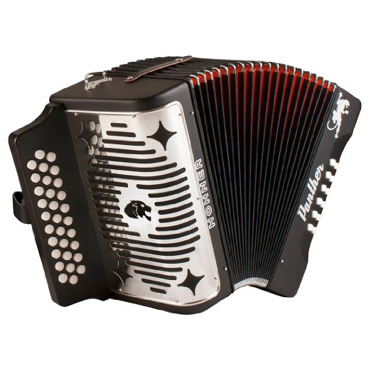 Hohner Panther HA3100FB FBbEb Accordion by Hohner