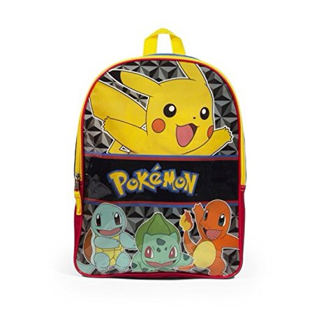 Pokemon Pikachu 16 Inch Multi Colored Backpack - Pikachu Girl