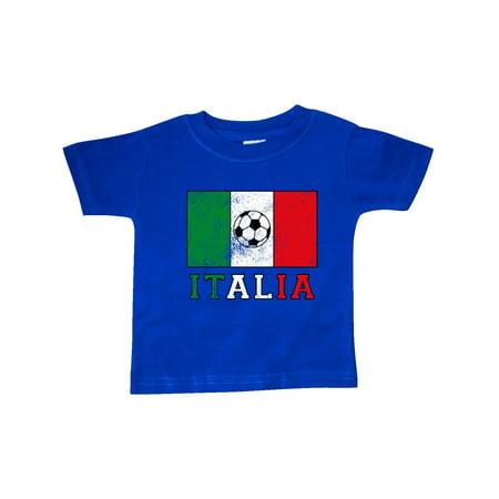 Soccer Baby T-shirt - Italian Soccer Baby T-Shirt