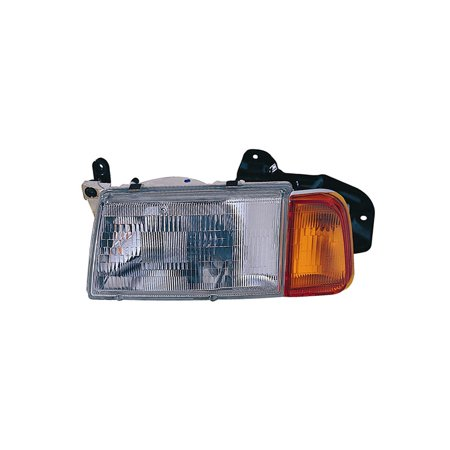 Replacement Depo 318-1102L-ASC Driver Side Headlight For 89-98 Suzuki Sidekick