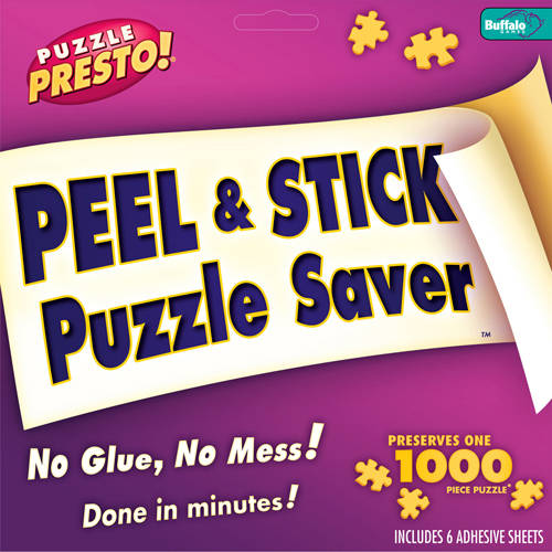 Buffalo Games Puzzle Presto Peel and Stick Puzzle Preserver by Buffalo Games