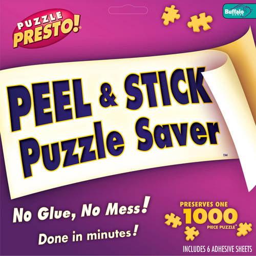 Buffalo Games Puzzle Presto Peel and Stick Puzzle Preserver