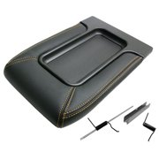IPCW BB105 Chevrolet Avalanche 2002 - 2005 Front Center Console Lid Black With Gold Stitching