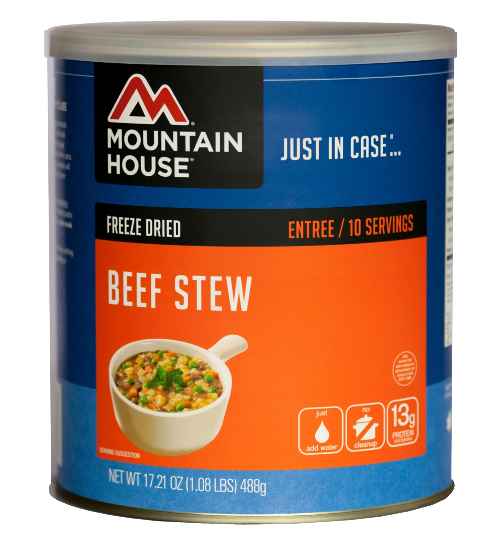 Mountain House (6 Pack) Beef Stew Main Entree #10 Can by Mountain House