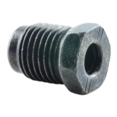 K Tool International KTI-03984 5-pk 6mm Brake Line Nut Metric 12mm X 1.0 Bubble - 1.0 Bubble Flare Nut