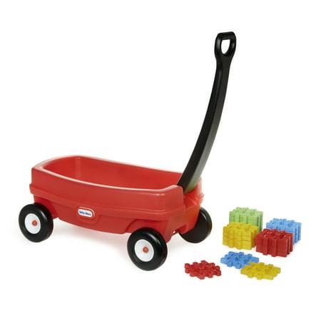 Little Tikes Waffle Blocks Wagon w/ 20 Waffle -