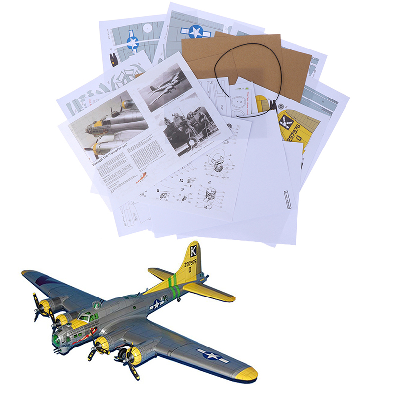 FLYING FORTRESS PERSONALISED INSIDE OUTSIDE HANDMADE CARD BIRTHDAY ANNIVERSARY