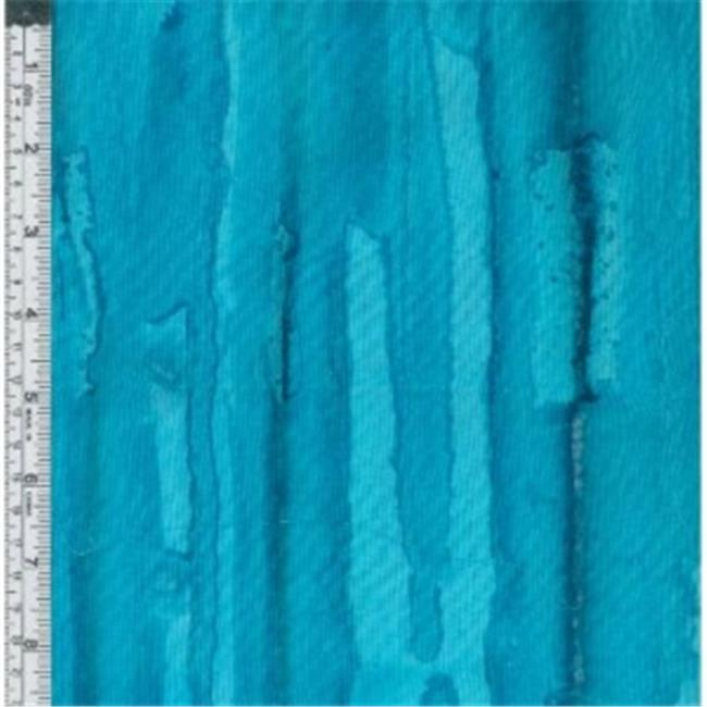 Textile Creations MB-030 Melting Pot Fabric, Turquoise Horizontal Stripe, 15 yd.