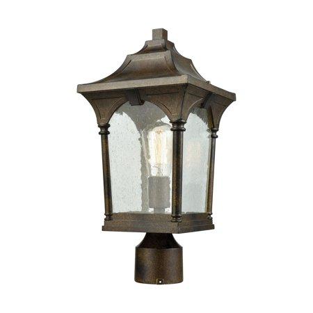 ELK Lighting Loringdale 45048/1 1 Light Outdoor Post Mount