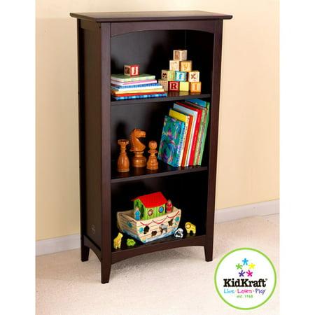 kidkraft avalon tall bookcase espresso. Black Bedroom Furniture Sets. Home Design Ideas