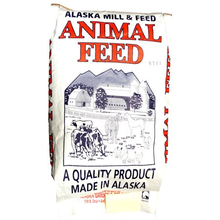 ALASKA GARDEN AND PET POULTRY FEED 50LB