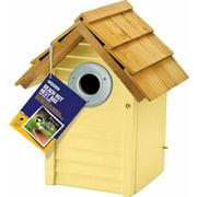 Beach Hut Nest Box, Yellow