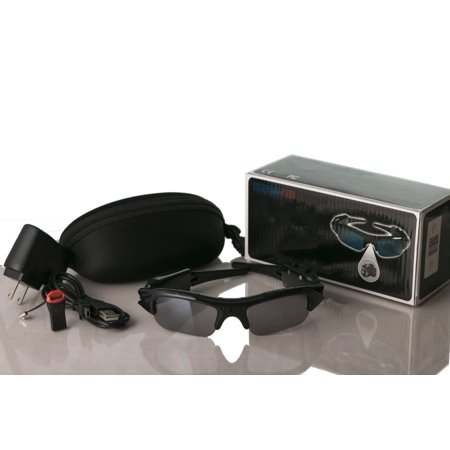 Inshore Fishing Hands Free Mini DVR Camcorder (Sunglasses With Camcorder)