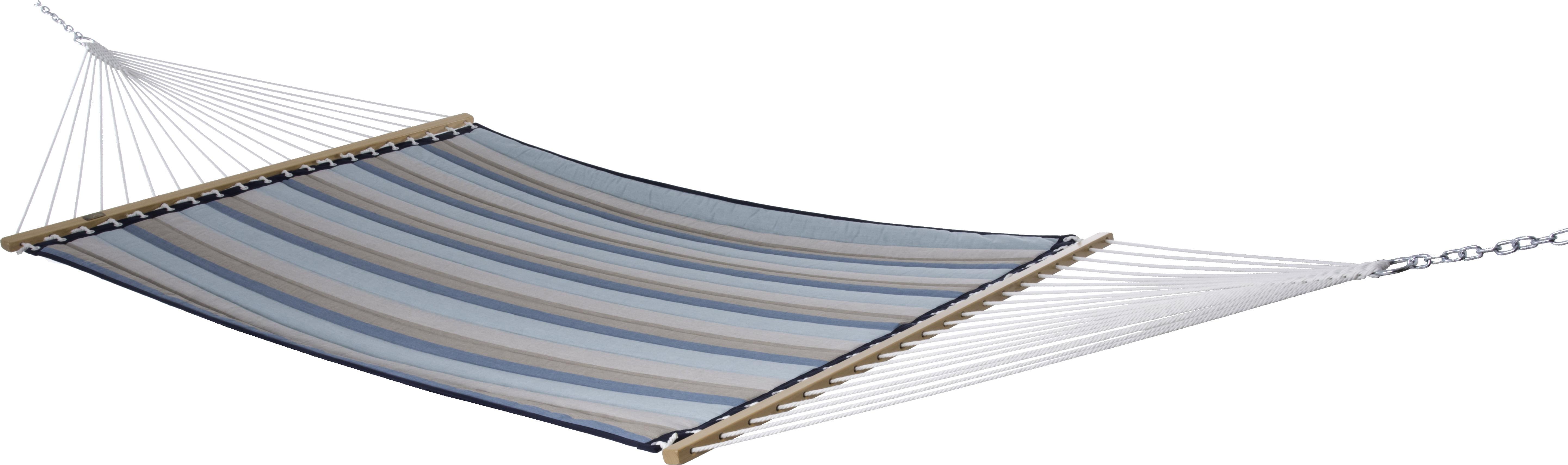 Sunbrella Quilted Hammock Double (Gateway Mist) by Vivere LTD