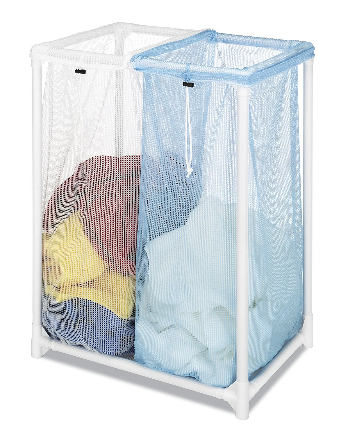 Double Laundry Sorter TRIPLE, Ship from USA,Brand Whitmor by