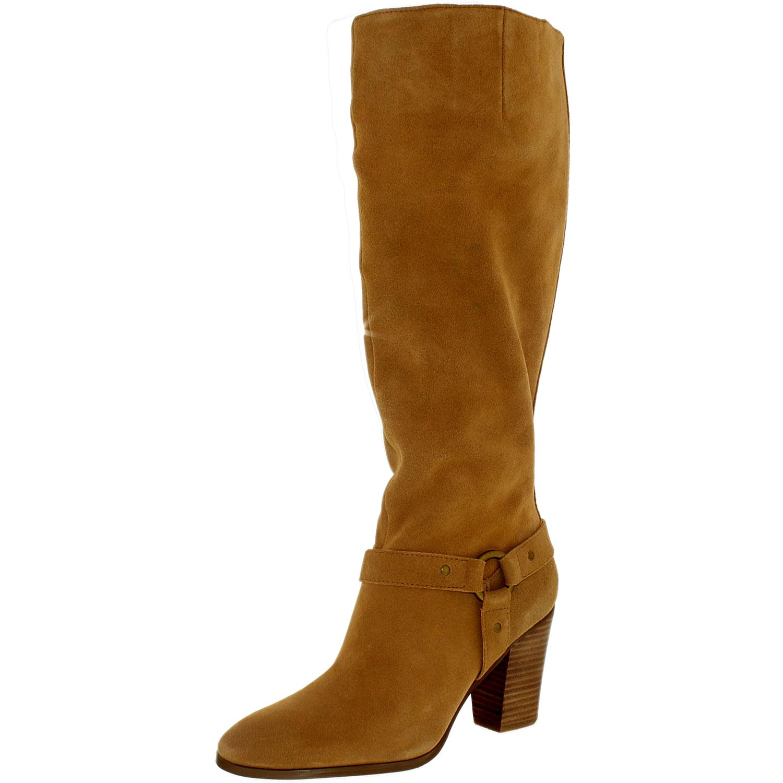 1466097e855 Lauren Ralph Women s Fareeda-Bo-Csl Suede Camel Knee-High Boot - 9.5 ...