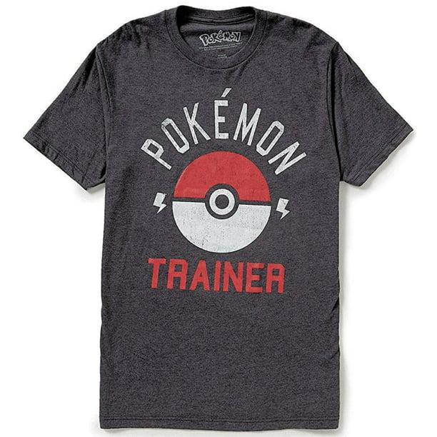Pokemon entraîneur T-shirt Pokeball Ash Ketchum Arena GO Hommes Shirt