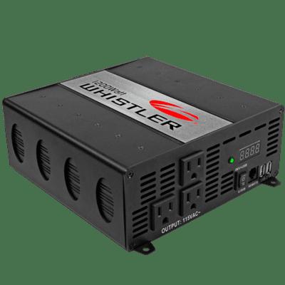 Whistler 1200 Watt Power Inverter 3 AC Outlets & Volt